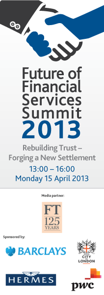 Future of Financial Services Summit 2013